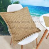 Patio Faux Natural Fiber Outdoor Pillows