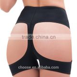 2016 hot Black High Waist Butt Lifter panties Open Bottom Sexy Butt Lift Body Shaper