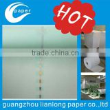 Security thread watermark paper & cotton fiber paper