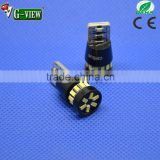 high quality low price automobile led light T10 18smd 3014 canbus interior car lamp error free light