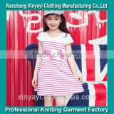 New product 2014 stripe baby girl summer dress/baby dress new style clothing factories in china