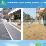 Competitive price hot selling flooring materials water permeable ceramic paving tile in USA