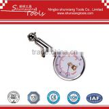 Dual-Head Chuck Dial Tire Gauge TG-005