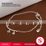 2014 silver indian ankle bracelet with bells A015                                                                         Quality Choice