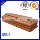 H004 funeral supplies Italy coffin wooden coffin