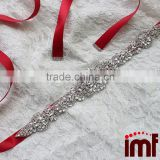 2016 Bride Belts Handmade Pearls Beads Wedding Sash Woman Waistbands Accessories