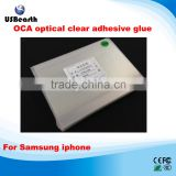 50pcs/lot 4 inch OCA optical clear adhesive double-side glue tape for iPhone Samsung for Mit for formitsu