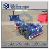 20 ft , 40 ft, 45 ft skeleton container transport semi trailer with hydraulic lifting system