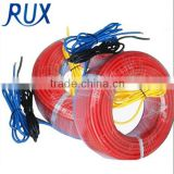 18w red pipe outdoor underfloor heating silicon rubber cable                                                                         Quality Choice
