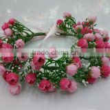 Wholesale Artificial women Rose Flower Wedding Crown Head Band tiara flower crown garland for girls