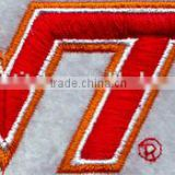 Fashion 3D embroidery letters patch custom embroidery patch for t-shirt from online shopping alibaba