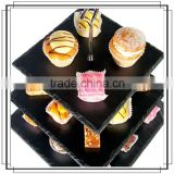 America style slate bread stand display racks