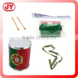 Children toy snare drum beat play set