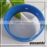 Shenzhen Supplier Eco-friendly Soft PVC Loose Teen Boy Bracelet For Basketball