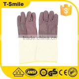 Industrial leather hand gloves maxiflex gloves