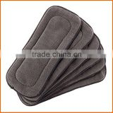 Natural Bamboo Charcoal Bamboo Liners for Baby Cloth Diapers Nappy Charcoal Bamboo Inserts