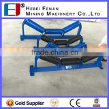 Good Performance Steel Troughing Belt Conveyor 35 Degree Carrying Idler For Cargo Conveying