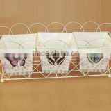 Hot Sale Beautiful Butterfly Plant Stand for Home&Garden Decoration
