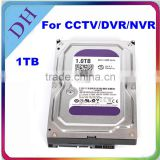1tb slim hdd internal quality drive for cctv hard drive brands 3.5 hard disk for dvr/nvr use
