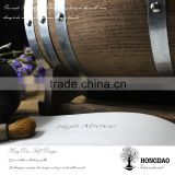 HONGDAO wooden barrel,small quantity wooden barrel,decorative mini small quantity wooden barrel