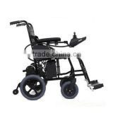 Electric wheelchair light folding the elderly disabled persons aluminum lightweight wheelchair folding wheelchair