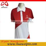 China factory oem High quality cotton/polyest print golf polo shirt and tee shirts