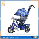 2016 Lexus steel frame kids tricycle for baby/price kids tricycle with rubber wheels/children tricycle with pusher