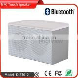 Hand touch panel control bluetooth speaker mini aluminum metal wireless portable pocket bluetooth speaker with NFC function