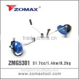 world best selling products 52cc ZMG5301 1.4kw brush cutter carburetor spare parts to cut grass