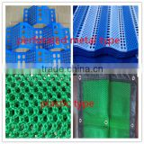 Plastic Windproof Dust Suppression system / Perforated Mesh Wind Dust Suppression Netting/ Wind Dust-controlling Nets