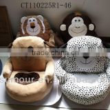 cute soft plush&stuffed animal chair/stuffed animal bag for children
