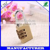 Pure cubic padlock door lock security password brass padlock                                                                         Quality Choice