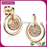 Hot Selling Products Gold Lemon Studs Bulk Wholesale Earrings