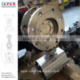 LAPAR dn150 pn16 High-performance Triple Eccentric Wafer stainless steel Butterfly Valve