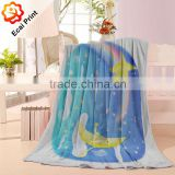 home hot sell comfortable custom printing fleece blanket