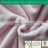 Professional knit fabric manufacturer 100% Polyester flannel fabric for blanket