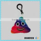 Custom cute plush stuffed toy emoji plush keychain in 6*6 CM/10*10CM/12*12CM                                                                                                         Supplier's Choice