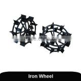 agricultural power tiller attachments iron wheel