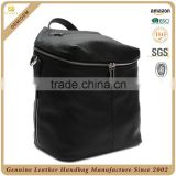 Fashion quality convertible backpack purse black leather backpack for women                                                                         Quality Choice