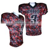 Digital Camo Football Jersey Americna Football Uniforms Sublimated