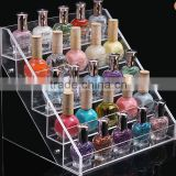 Customized acrylic display ,otating acrylic nail polish rack display,nail polish showcase stands