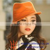 Church lady 2015 new products wool felt hats new from factory