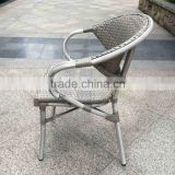 outdoor furniture high quality bamboo look fabric chair