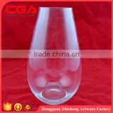 Glass Vase/clear And Coloured Home Decorative Glass Flower Vase/china home Decoration hot sale