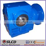 S series worm gear right angle gearbox small gearbox for conveyor