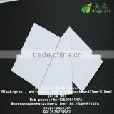 Uncoated paper board with white back FDA grey white duplex paper laminated chipboard