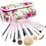 12Pcs Pro Eyeshadow Cosmetic Makeup Brushes Set Brush Soft Kit With Holder Bag
