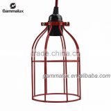 Lamp Wire Bird Cage,Industrial Wire Cage Lighting,Antique Metal Wire Bird Cages