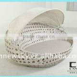 Rattan wicker furniture egg shaped sofa