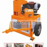 HR1-20 moveable brick machine price / solid interlocking brick making machine / portable clay brick machinery